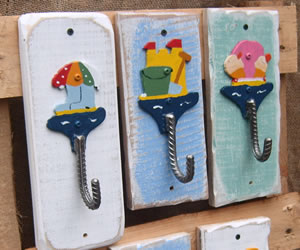 Individual designed hooks to hang goods on
